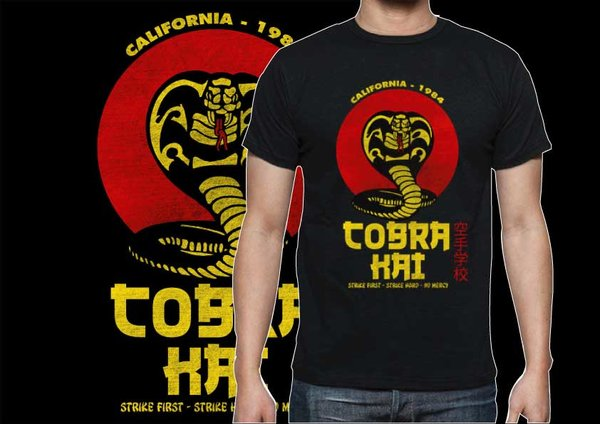 Camiseta Cabra Kai Karate Kid