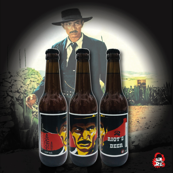 Riots Beer El Malo (Lee Van Cleef)