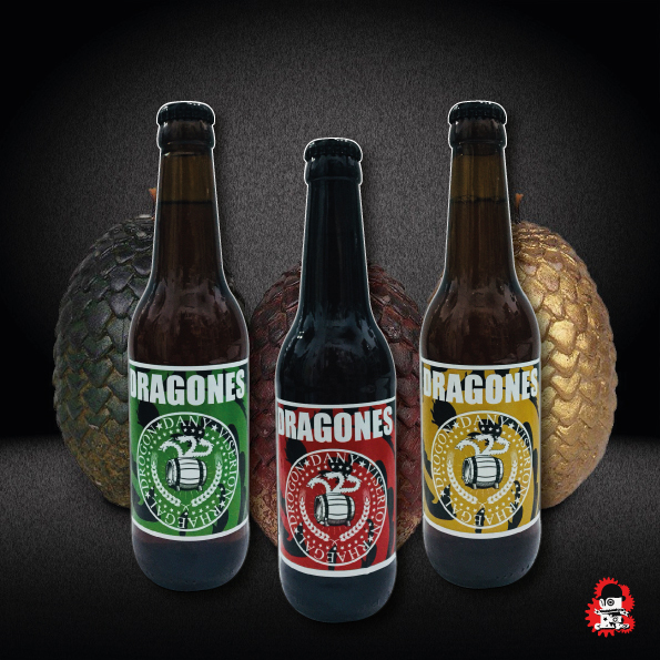 Pack Cervezas Riots Beer Dragones