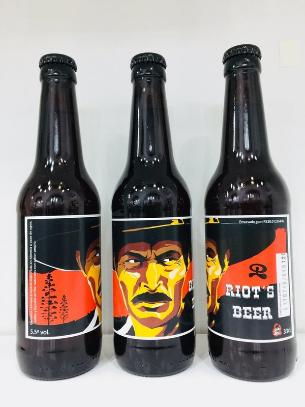 Riots Beer El Malo (Lee Van Cleef) 12 unids.