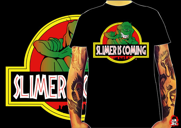 Camiseta Slimer si coming