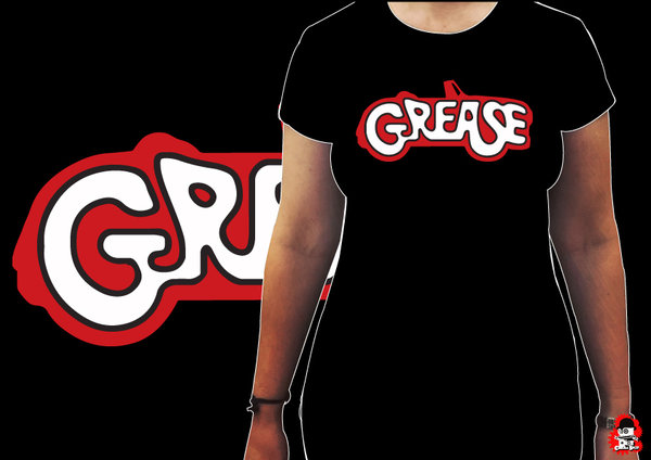Camiseta Chica Grease