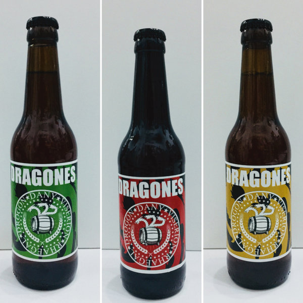 Pack 3 Cervezas Riots Beer Dragones