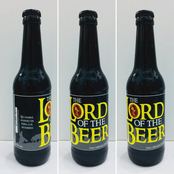 Pack 3 Cervezas Riots Beer The Lord of the Beer