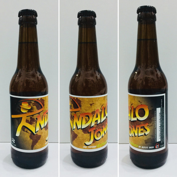 Pack 3 Cervezas Riots Beer Indalo Jones