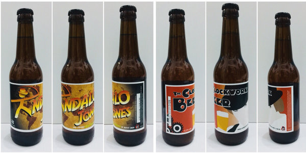 Pack 6 unids. Tipo Ale Ecológicas / 3 Indalo Jones + 3 Clockwork Beer