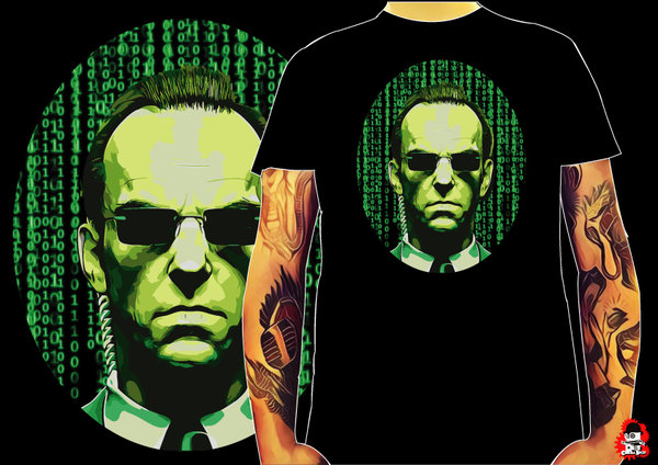 Camiseta Matrix Agente Smith